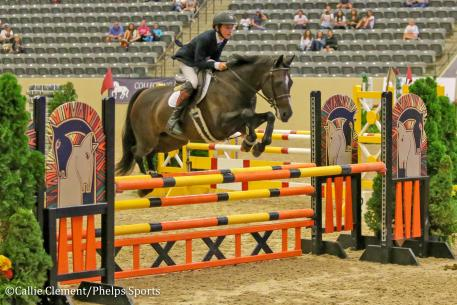 Zacko Hardin and The Girl Next Door won the USEF Pony Jumper Championship
