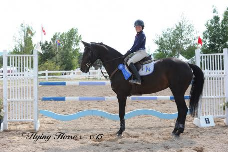 Ashley Buchanan and Saterland (Flying Horse Photography)