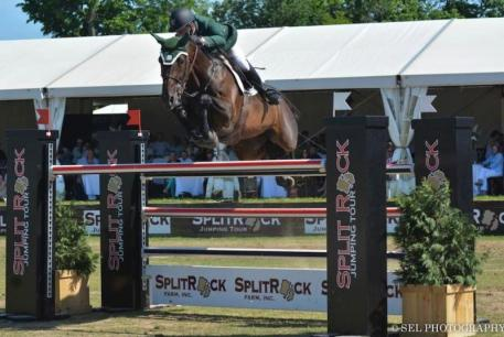 Kevin Babington and Shorapur win the 00,000 CSI-3* Grand Prix, presented by Split Rock Farm (Photo: SEL Photography)