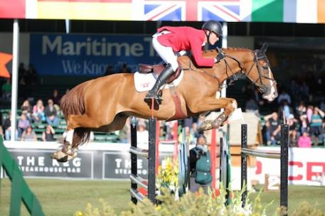Ben Asselin and Makavoy. Photos © Spruce Meadows Media Services.