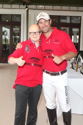 Brandon Phillips, Honorary Chairman at last year's Polo For A Purpose Event.