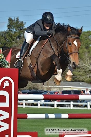 Brennan and Japan over the CWD jump.