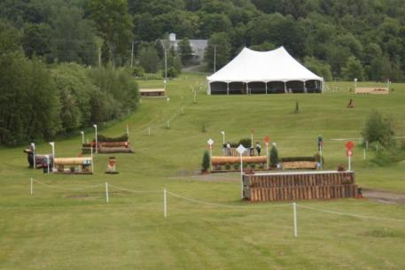 Bromont cross country course
