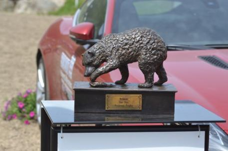 The Bromont Two Star Perpetual Trophy. Photo by Leslie Wylie.