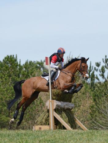 Buck Davidson and Ballynoecastle RM. Photo by Jenni Autry.
