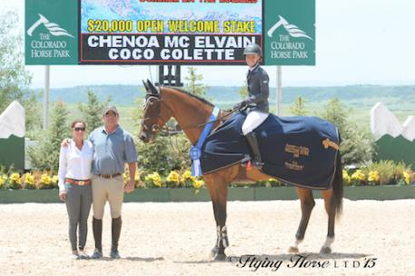 Chenoa McElvain and Coco Colette in their winning presentation (Photo: Flying Horse Photography)
