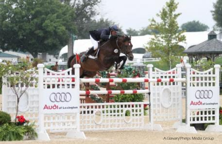 David Beisel and Ammeretto soar to victory.