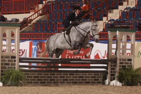 Debra Taylor and Hypnotic win the Ladies Sidesaddle Over Fences (c) Al Cook - alcookphoto.com