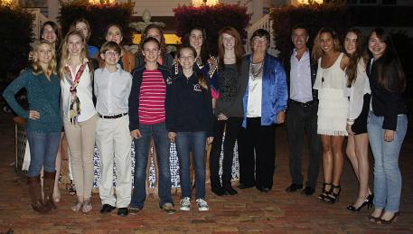 2014 Emerging Dressage Athlete participants