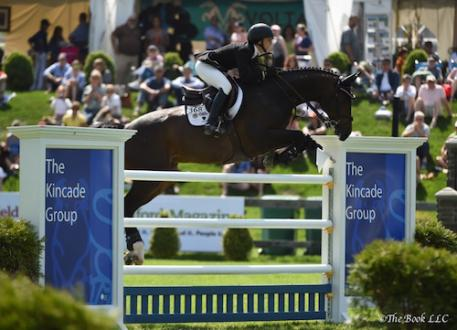 Georgina Bloomberg and Caleno 3. Photo by The Book, LLC