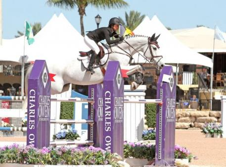 Georgina Bloomberg, shown here on Juvina, will be competing at this year's Silver Oak Tournament. Photo by Kenneth Kraus