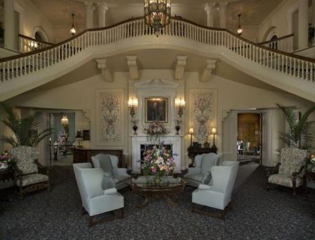 The Grand Entrance Hall at Spindletop, right acroos from the Kentucky Horse Park