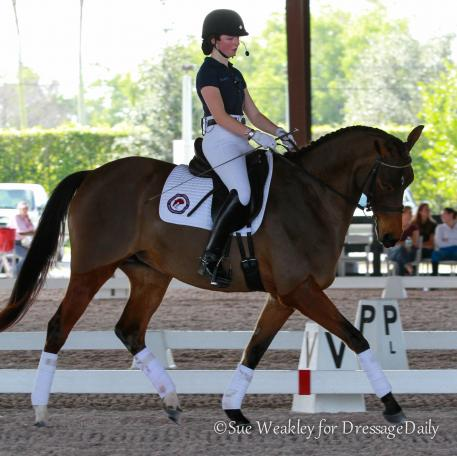 Hannah MacCabe and Cheryl Holekamp's Sophie Photo: Sue Weakley
