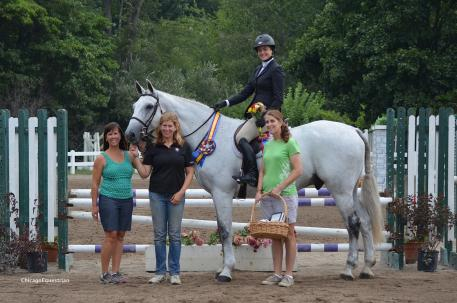 Hillary Marx won the Open Adult Medal and her horse Cohiba won the Best Equitation Horse Award.