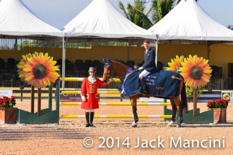 Ian Millar and Star Power in their winning presentation. Photo copyright Mancini Photos, www.manciniphotos.com.