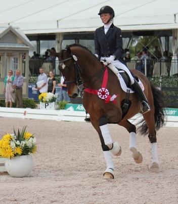 Laura Graves and Verdades are back on top of competition at the Adequan Global Dressage Festival