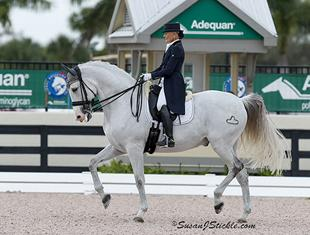 Janne Rumbough and Junior (Photo: SusanJStickle.com)