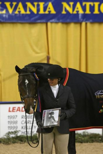 Jennifer Alfano and Candid. Photo by Emily Riden/Phelps Media Group.