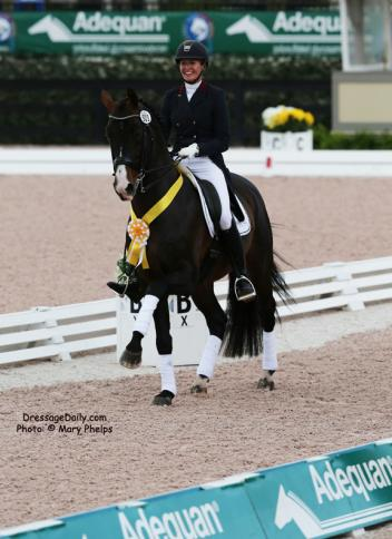 Charlotte Jorst and Kastel's Nintendo reach new heights in the Grand Prix Photo: Mary Phelps