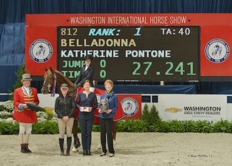 Katherine Pontone and Belladonna in their winning presentation. Photo © Shawn McMillen Photography, www.shawnmcmillen.com.