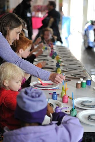There are a variety of activities at Kids Day. Photo copyright Alden Corrigan.