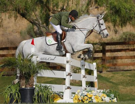 Kyle King and SIG White Chocolate, owned by SIG International, Inc. Photo by McCool Photography