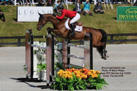 Lauren Hough and 12-year-old Swedish Warmblood mare, Ohla