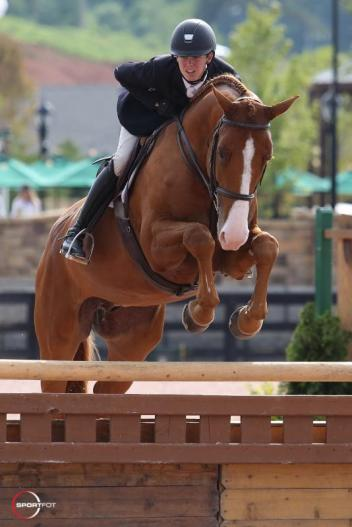 Lucas Porter and Punch in the ASPCA Maclay (Photo: ©Sportfot)