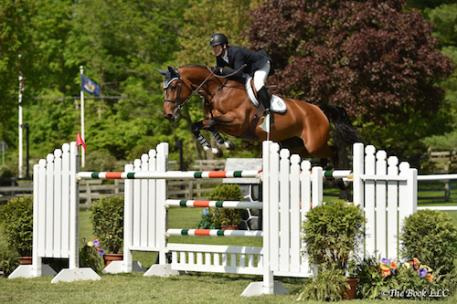 Mclain Ward and HH Azur. Photo by The Book, LLC