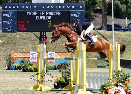 Michelle Parker and Cupilor. Photo courtesy of CapturedMomentPhoto