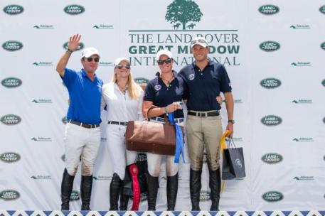 Pan American Team (l-r) Philip Dutton, Marilyn Little,  Lauren Kieffer, and Boyd Martin (Photo: 22 Gates)