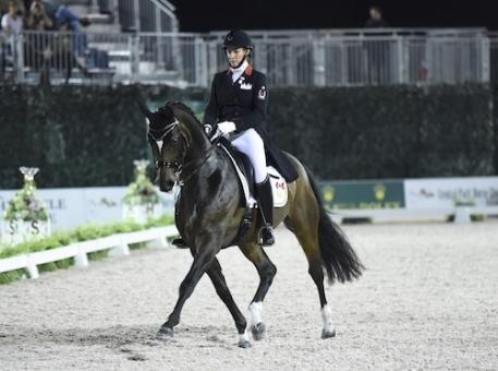 Karen Pavicic and Don Daiquiri. Photo Credit Kit Houghton/Rolex
