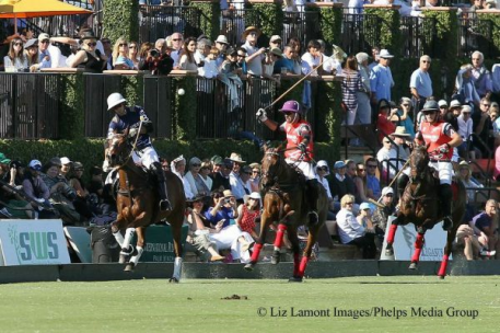 Nico Pieres, Facundo Pieres and Remy Muller. Photo: Liz Lamont Images