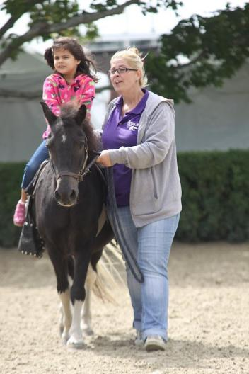 Pony rides are just one of the many kid-friendly attractions. Photo by Carrie Wirth