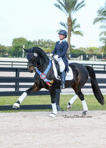 Devon Kane and Destiny winning the 2014 GAIG/USDF Region 3 Grand Prix Championship (Photo: SusanJStickle.com)