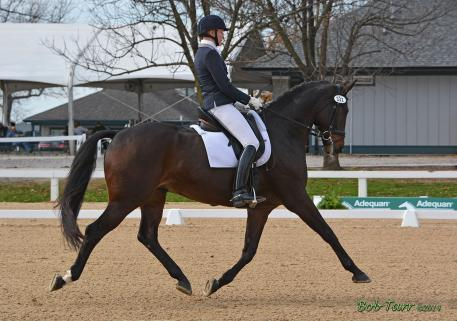 Debbie and Boccaccio IOF shine at the US National Dressage Finals