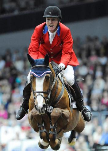 2012 FEI World Cup champions Rich Fellers (USA) and Flexible (c) Kit Houghton /FEI