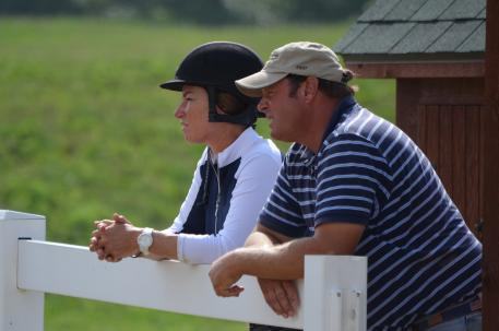 Rush and Caroline Weeden host quality events at their Brookwood-Annali Farm in Antioch, IL.