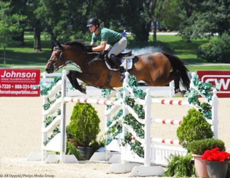 Shane Sweetnam on Fineman put in a quick showing for second place.
