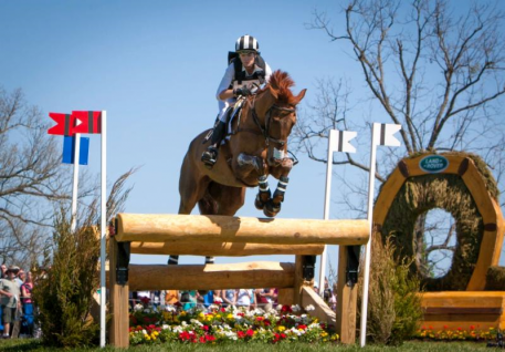 Sinead Halpin (USA) and Manoir De Carneville at the 2014 Rolex Kentucky Three-Day Event presented by Land Rover, held at the Kentucky Horse Park. Photo Credit - StockImageServices.com