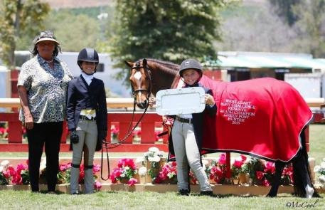 Overall Reserve Grand Champion Pony Small Addition and Juliette Joseph (Photo: McCool)
