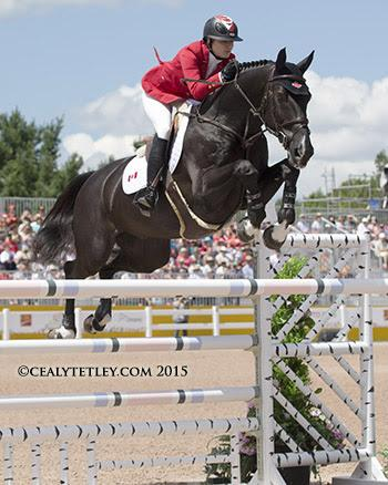 Tiffany Foster of North Vancouver, BC, was clear for Canada riding Tripple X III, owned by Artisan Farms LLC. (Photo: © Cealy Tetley)