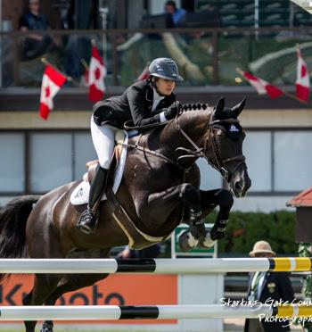 Tiffany Foster and Tripple X III, owned by Artisan Farms LLC. (Photo: © Starting Gate Communications)