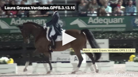Watch the winning ride for Laura and Verdades! Video courtesy of Campfield Videos.