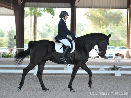 Roxanne Trunnell and NTEC Royal Dancer (Photo: (C) Lindsay Y. McCall)