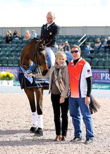 Steffen Peters and Rosamunde in their winning presentation.