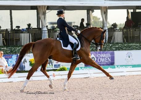 Lisa Wilcox and Galant (Photo: SusanJStickle.com)