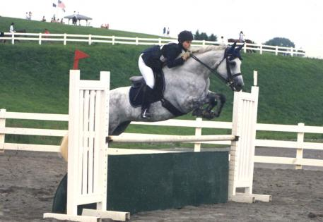 Ellie Rawle and Double Bounce