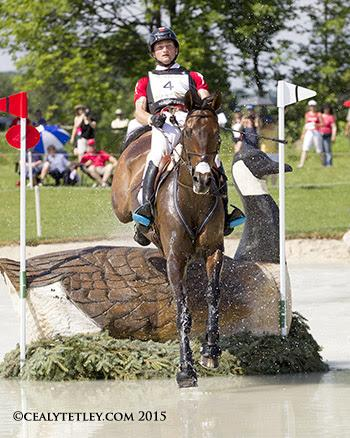 Waylon Roberts riding Bill Owen produced a clear cross-country performance for the Canadian Eventing Team. (Photo: © Cealy Tetley)