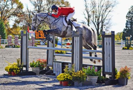 Will Faudree and Pfun at Fair Hill. Photo by Jenni Autry.